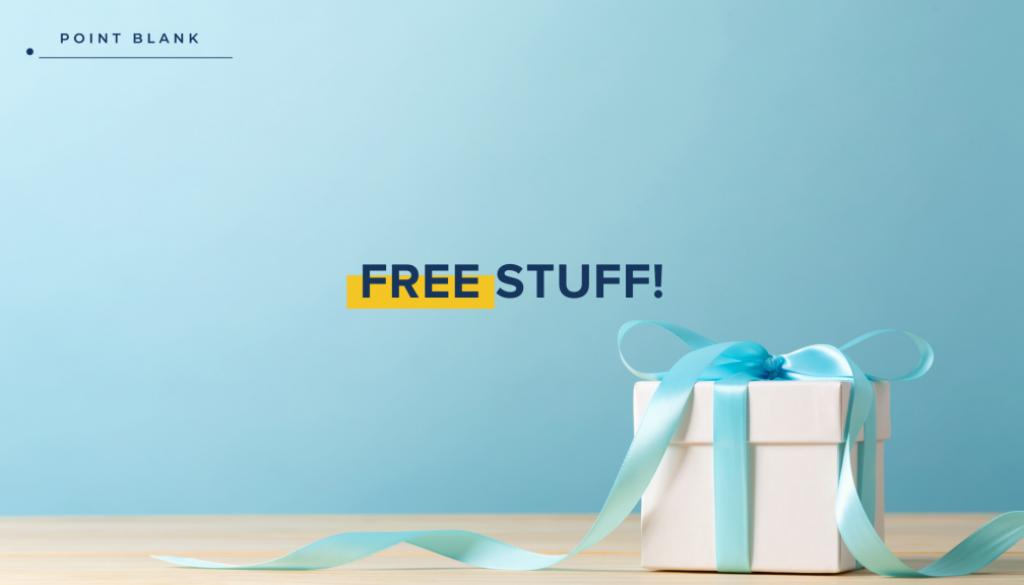 Free Stuff - Point Blank Blog